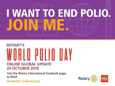 Kampf gegen Polio - Rotary International